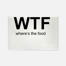 WTFood Rectangle Magnet