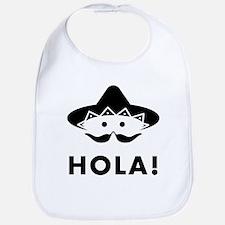 Mexican Mustache Bib