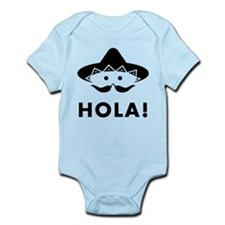 Mexican Mustache Infant Bodysuit