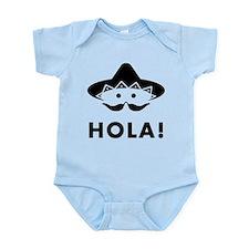 Mexican Mustache Onesie