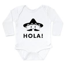 Mexican Mustache Onesie Romper Suit