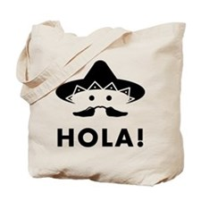 Mexican Mustache Tote Bag