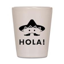 Mexican Mustache Shot Glass