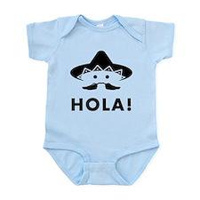 Mexican Mustache Infant Bodysuit