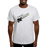 Bass guitar Mens Light T-shirts