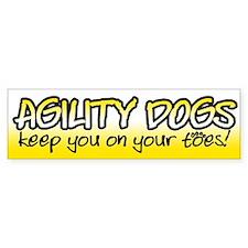 KYOYT - Agility Dog Bumper Bumper Sticker