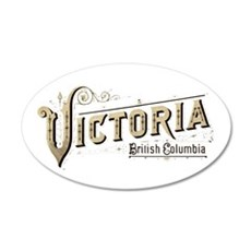 Victoria BC Wall Decal