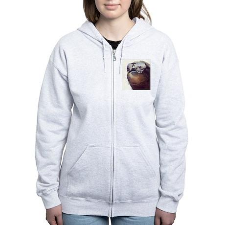 million dollar sloth Zip Hoodie