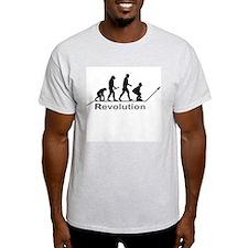 Revolution Ash Grey T-Shirt