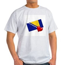 Bosnia-Herzegovina 2 Ash Grey T-Shirt