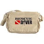 Rescue Diver 3 (blk) Messenger Bag