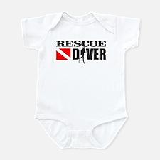Rescue Diver 3 (blk) Body Suit