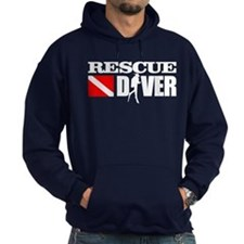 Rescue Diver 3 (blk) Hoodie
