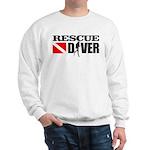 Rescue Diver 3 (blk) Sweatshirt