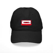 Red Cassette Tape Baseball Hat