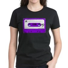 Purple Cassette Tape Tee