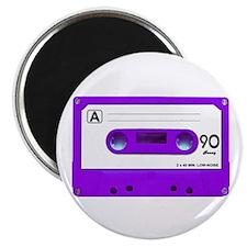 "Purple Cassette Tape 2.25"" Magnet (100 pack)"