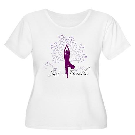 JustBreathe.jpg Plus Size T-Shirt