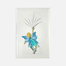 Blue Fairy Rectangle Magnet