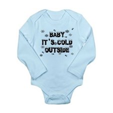 Baby, It's Cold Outside Long Sleeve Infant Bodysui