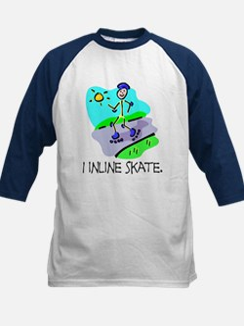 I inline skate Kids Athletic Jersey