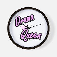 Drama Queen Wall Clock