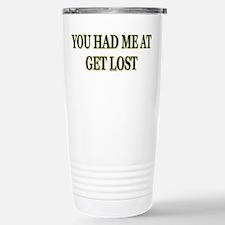 Get Lost Stainless Steel Travel Mug