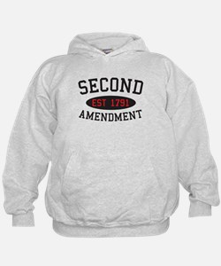 Second Amendment, Est. 1791 Hoodie