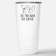 50th Wedding Anniversary Personalized Mugs
