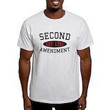 2nd amendment t shirts Mens Light T-shirts