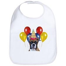 Birthday Boxer Dog Bib