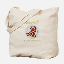 Fn Love Bacon Tote Bag