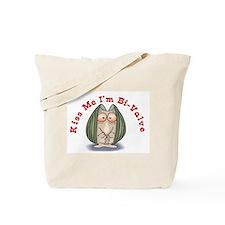 Kiss me I'm Bi-Valve Tote Bag
