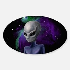 Alien Nebula Rectangle Decal