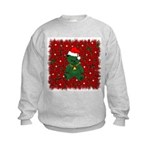 Christmas Bear Kids Sweatshirt