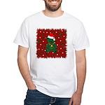Christmas Bear White T-Shirt