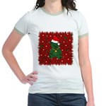 Christmas Bear Jr. Ringer T-Shirt