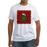 Christmas Bear Fitted T-Shirt