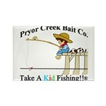 Pryor Creek Bait Company Rectangle Magnet (10 pack