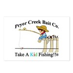 Pryor Creek Bait Company Postcards (Package of 8)