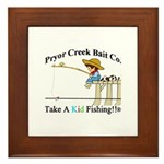 Pryor Creek Bait Company Framed Tile