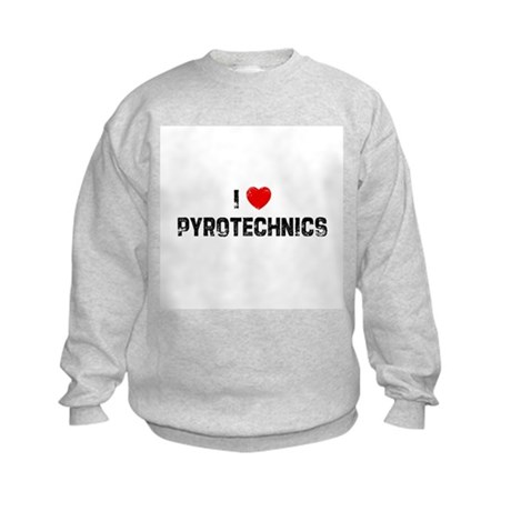 I * Pyrotechnics Kids Sweatshirt