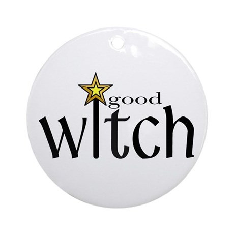 Good Witch Ornament (Round)