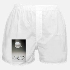 Entropy shown by broken cup - Boxer Shorts