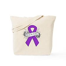 Leiomyosarcoma Find A Cure Tote Bag