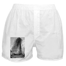 Oil well, 19th century - Boxer Shorts