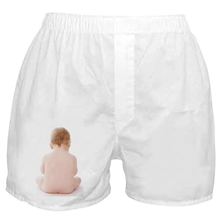 Sitting baby - Boxer Shorts