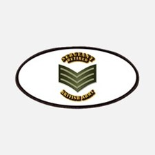 UK - Army - Sergeant - Retired Patches