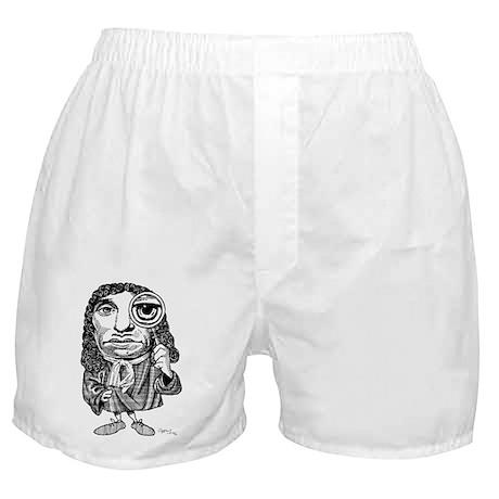 Anton van Leeuwenhoek, caricature - Boxer Shorts