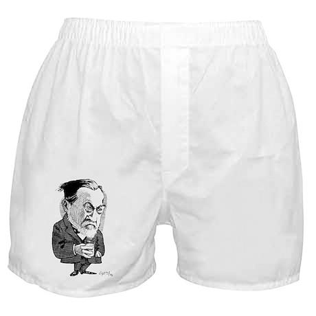 Louis Pasteur, caricature - Boxer Shorts